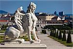 Sphinx at Belvedere Palace, Vienna, Austria