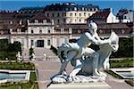 Statue in Garden, Belvedere Palace, Vienna, Austria