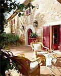 Maison méditerranéenne avec terrasse