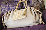 Handbag on couch