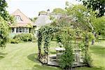 Garden of a country house