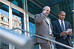 Portrait of Businessmen, Mannheim, Baden-Wurttemberg, Germany