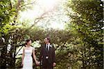Mariée et le marié, Ontario, Canada