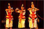 Dancers at Sri Lankan Cultural Dance Performance, Kandy, Sri Lanka