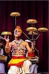 Tambourine Spinner at Sri Lankan Cultural Dance Performance, Kandy, Sri Lanka
