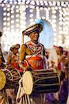 Drummer at Esala Perahera Festival, Kandy, Sri Lanka