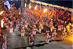 Batteurs, Esala Perahera Festival, Kandy, Sri Lanka
