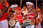 Drummers, Esala Perehera Festival, Kandy, Sri Lanka