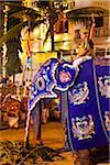 Homme cheval éléphant, Esala Perahera Festival, Kandy, Sri Lanka