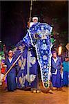 Man Riding Elephant, Esala Perahera Festival, Kandy, Sri Lanka