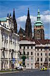 Castle Square, Prague Castle, Prague, Czech Republic