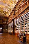 Philosophical Hall, Strahov Monastery, Strahov, Prague, Czech Republic