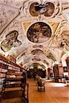 Philosophic Hall, Strahov Monastery, Prague Castle District, Prague, Czech Republic