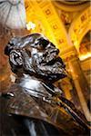 Bust of Antonin Dvorak in National Museum, Prague, Czech Republic