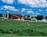 1990s AMISH FARM BUNKER HILL, OHIO