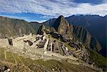 Machu Picchu, UNESCO World Heritage Site, Aguas Calientes, Peru, South America