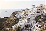 View of Oia, Santorini Island, Greece