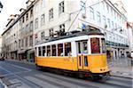 Portugal, Lisbon, old streetcar