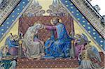 Italy, Umbria region, Orvieto, duomo, mosaic, scene from new testament