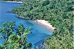Mayotte, plage près de Sada