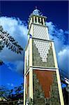 Mayotte, mosque of Tsingoni, minaret