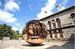 Ireland, Dublin, Trinity college, sculpture