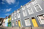Ireland, County Kerry, Dingle peninsula, facades