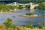 Royaume-Uni, pays de Galles, Menai, détroit de Menai bridge