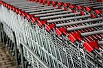 shopping cart stack