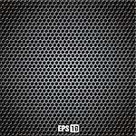 metal grid - vector illustration