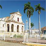 Iglesia Parroquial de la Santisima Trinidad, Plaza Mayor, Trinidad, Cuba