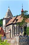 Historic medieval Krivoklat Castle in Czech Republic ( central Bohemia, near Prague )