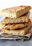 Pile de pain algérien, gros plan