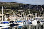 Marina, Menton, Alpes-Maritimes, Provence, Cote d'Azur, French Riviera, France, Mediterranean, Europe