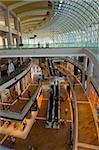 Shoppes, le centre commercial de Marina Bay Sands Resort and casino, conçu par Moshe Safdie, Singapour, Asie du sud-est, Asie