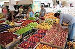 Market in Kalkan, Anatolia, Turkey, Asia Minor, Eurasia