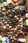 Lampes, Grand Bazar, Istanbul, Turquie, Europe
