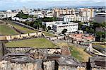 San Cristobal castle, former Spanish fortress, UNESCO World Heritage Site, San Juan, Puerto Rico, West Indies, Caribbean, Central America