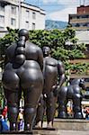 Sculptures de Fernando Botero, Plazoleta de las Esculturas, Medellin, Colombie, Amérique du Sud