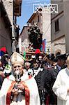 San Domenico dei Serpari (Saint-Dominique des serpents), Cocullo, Abruzzes, Italie, Europe