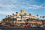 Main Street, Huntington Beach, Californie, États-Unis d'Amérique, l'Amérique du Nord