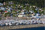 Quartier de West End, Ketchikan, du sud-est de l'Alaska, États-Unis d'Amérique, Amérique du Nord