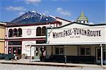 White Pass and Yukon Route Railway station, Skagway, Southeast Alaska, United States of America, North America