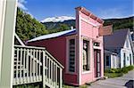 Wandering Wardrobe Store, Skagway, Southeast Alaska, United States of America, North America