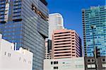 900 Figueroa tour à gauche sur Downtown Los Angeles, Californie, États-Unis d'Amérique, l'Amérique du Nord