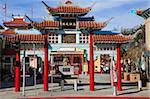 Central Plaza, Chinatown, Los Angeles, Californie, États-Unis d'Amérique, l'Amérique du Nord