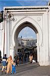Bab el Fahs, Medina Tor, Tanger, Marokko, Nordafrika, Afrika
