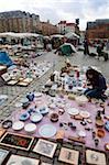 Jeu de Balle square flea market, Brussels, Belgium, Europe