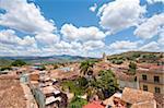 View of Trinidad, UNESCO World Heritage Site, from Palacio Cantero tower, Trinidad, Cuba, West Indies, Caribbean, Central America
