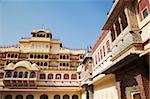 Chandra Mahal, City Palace, Jaipur, Rajasthan, Inde, Asie